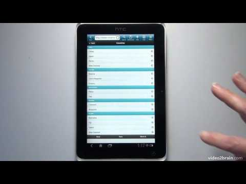 Previewing on a Tablet