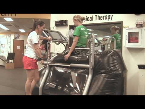 Anti-Gravity Treadmill for Rehab & Pain, AlterG AntiGravity Treadmill, Catz Austin