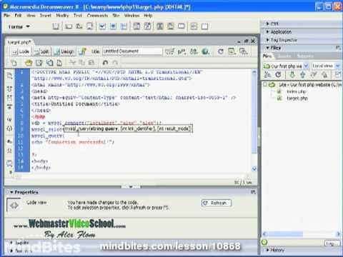 Webmaster: 46 PHP SQL & MySQL Basics