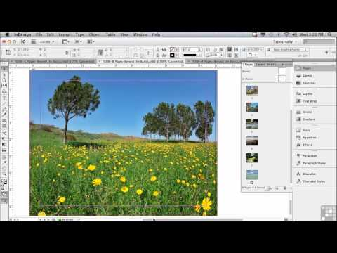 Adobe InDesign CS6 Tutorials | Intro to Pages in InDesign | InfiniteSkills