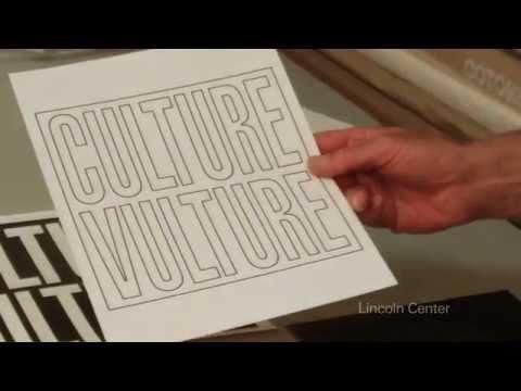 """Vera List Art Project: Barbara Kruger """"Culture Vulture"""" 2012"""