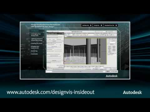 Design from the Inside Out with Autodesk Design Visualization
