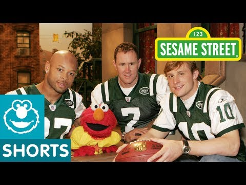 Sesame Street: Elmo And The NY Jets