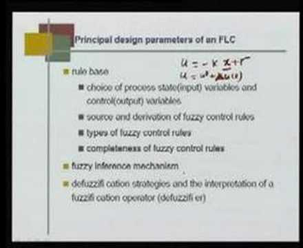 Module 2 Lecture 4 Introduction to Fuzzy Logic Control