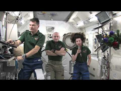 Expedition 26 Crew Gives Media Update on Mission