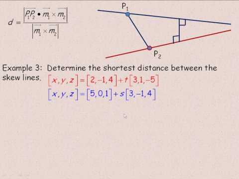 Intersections of Lines in Two-Space and three-Space Part 4.avi