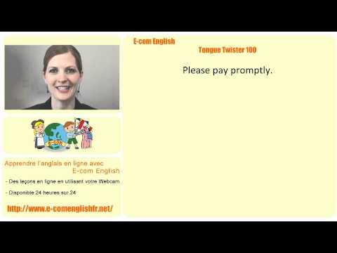 E-com English: Tongue Twister 15/100