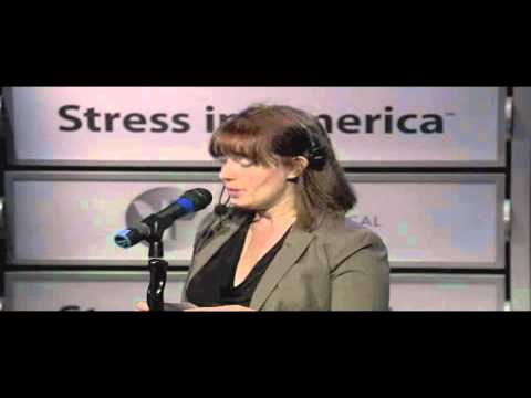 APA's 2011 Stress in America Town Hall Webcast - Part 4