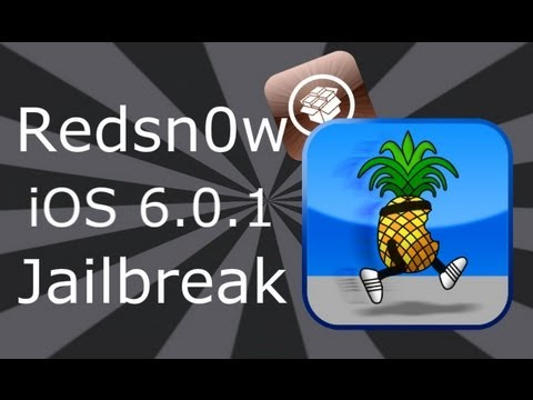 NEW iOS 6.0.1 Jailbreak For iPhone 4, 3GS & iPod Touch 4