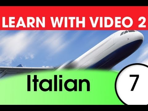 Learn Italian with Video - Getting Around Using Italian