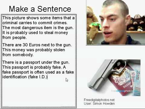Learn English Make a Sentence and Pronunciation Lesson 20: Criminal