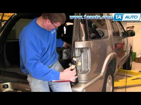 How To Install Replace Taillight Chevy S10 Blazer GMC S15 Jimmy 95-04 1AAuto.com