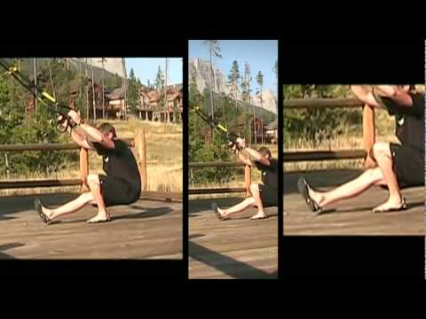 Cool Combo: TRX Single Leg Squat to TRX Crossing Balance Lunge