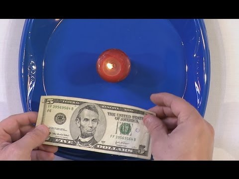 Unburnable Money - Science Experiment!