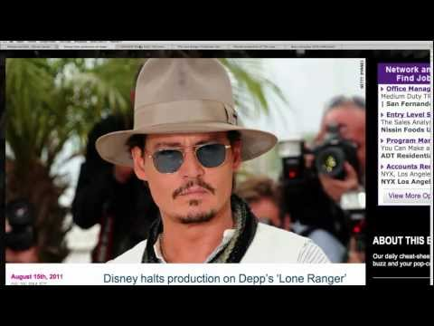 Disney Cancels Johnny Depp Movie