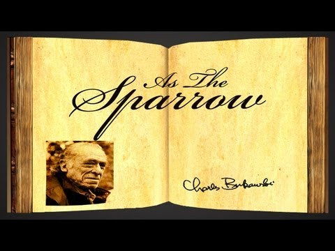 Pearls Of Wisdom - As The Sparrow by Charles Bukowski - Poetry Reading