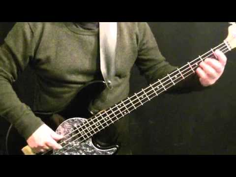 Motown Style Groove For Bass Guitar #5 - James Jamerson