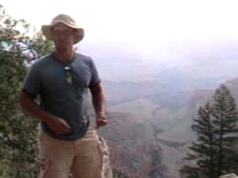 Mr. Gigliotti in Grand Canyon