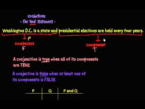Logical Statements - the And statement