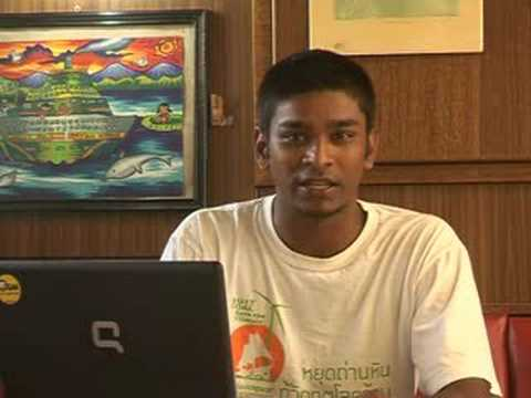 Amrit's vlog from the Rainbow Warrior