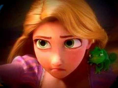 Fairy Tale - Princess Rapunzel and Pascal