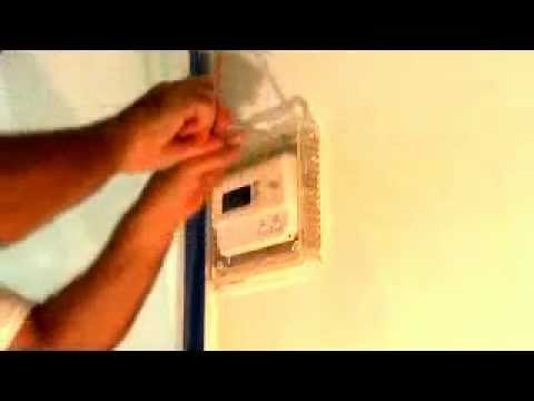 Tips for patching around a thermostat