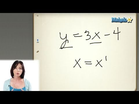 Introduction to Linear Equations