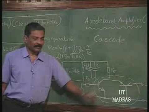 Lecture - 19 Wideband Amplifiers