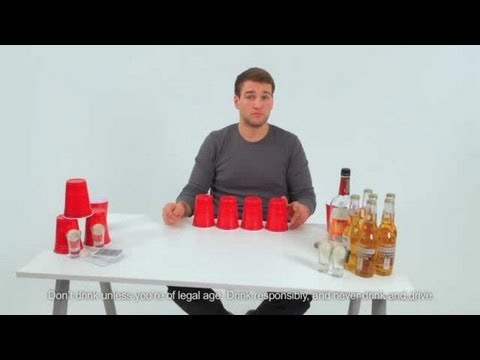 How to Play Drinking Games: Flong (Beer Cup / Flip Cup Hybrid)