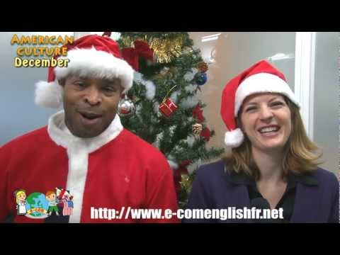 E-com English Monthly Videocast December - American Culture