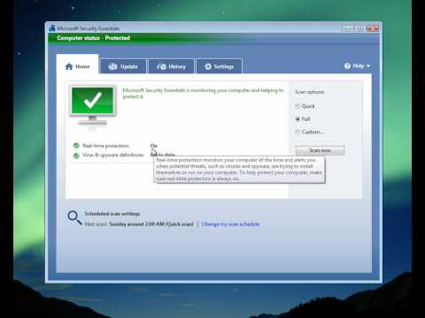 How to Install Microsoft Security Essentials Anti-Virus Software part two