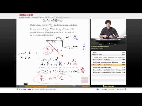 Calculus AB: Full Lesson on Related Rates