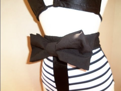 HOW TO MAKE A BOW BELT
