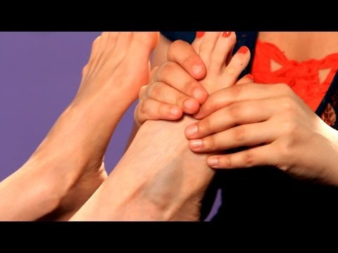How to Do Hook and Back Up   Foot Reflexology Techniques