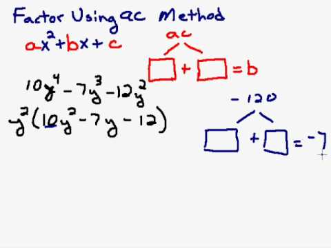 Factoring a Trinomial Completely