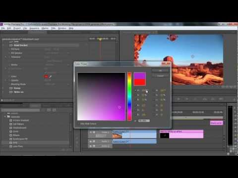 Adobe Premiere Pro CS6 Tutorial | Generate Effects | Infiniteskills