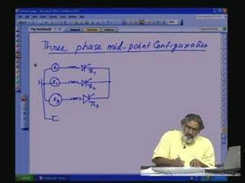 Lecture - 3 Controlled Rectifier Part - II (Three phase)
