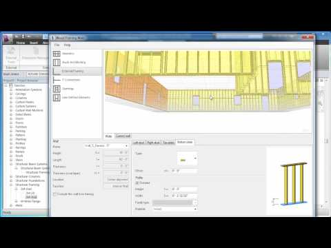 An Overview of Revit Wood Wall Framing Extension