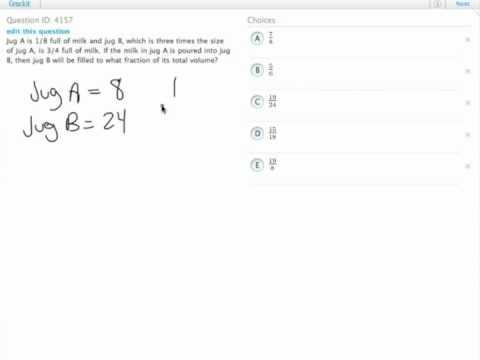 Grockit GMAT Quantitative - Problem Solving: Question 4157