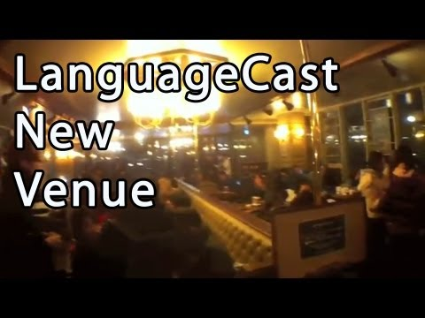 New meetup venue for LanguageCast (Hongdae, Seoul, Korea)