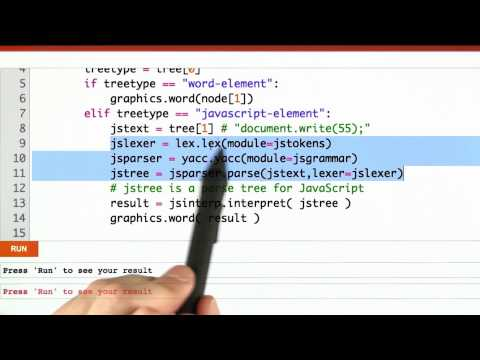 Calling The Interpreter Solution - CS262 Unit 6 - Udacity