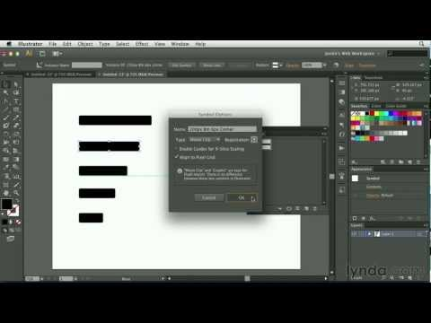 Illustrator tutorial: How to create web site buttons | lynda.com