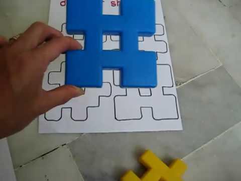 Preschool - Math. Shape puzzles