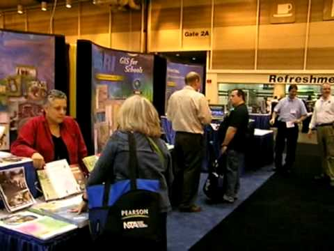 The ESRI Geospatial Zone at the National Science Teachers Association 2009 Conference