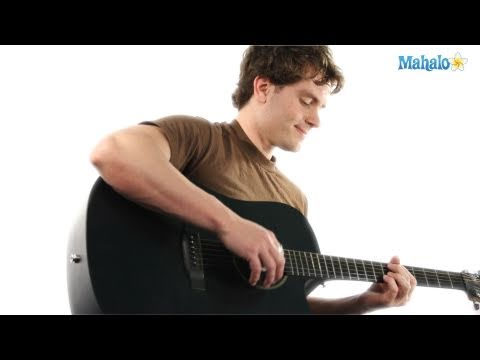 How to Play a B Major Seven (Bmaj7) Chord on Guitar