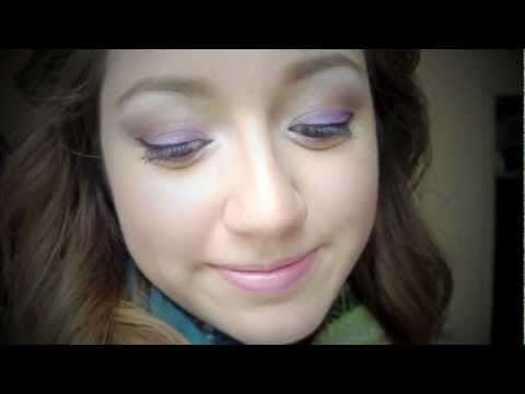 Purple & Neutral Makeup Tutorial using elf disney evil queen