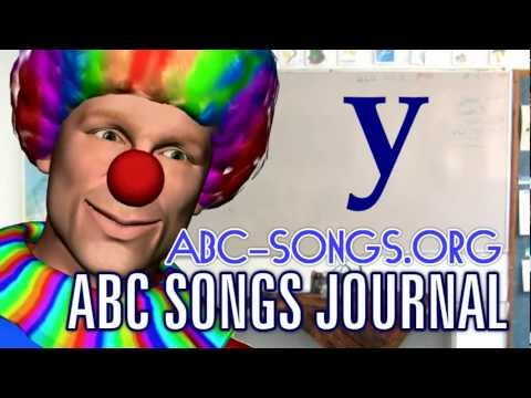 ABC Song Youtube is y Mr. Clown class, small letters lesson 5 by ABC songs journal video download