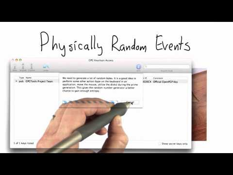 Sources Of Randomness - CS387 Unit 2 - Udacity