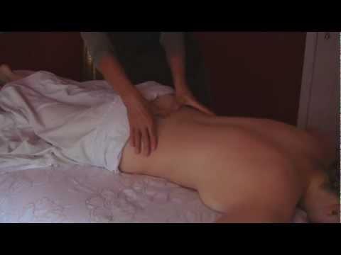 Body Massage Therapy Techniques 2, Cranio-Sacral Therapy Back and Sacrum Rub