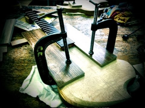 DIY 8-String - Part 3: Routing the Body and Initial Assembly